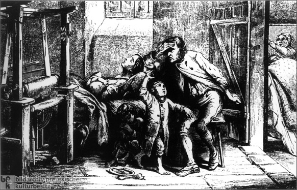 The Weavers' Misery (c. 1850)