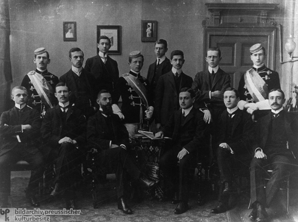 Group Photograph of the Maccabee Fraternity in Berlin (c. 1906)
