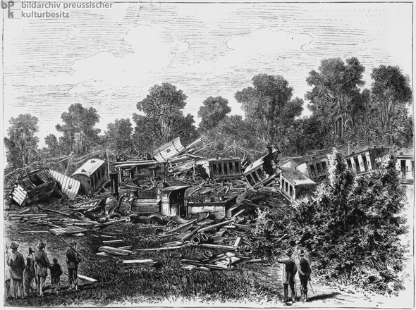 Train Wreck in Alsace (September 3, 1882)