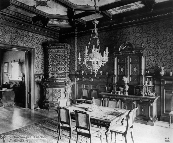 Upper-Middle-Class Dining Room (c. 1880)