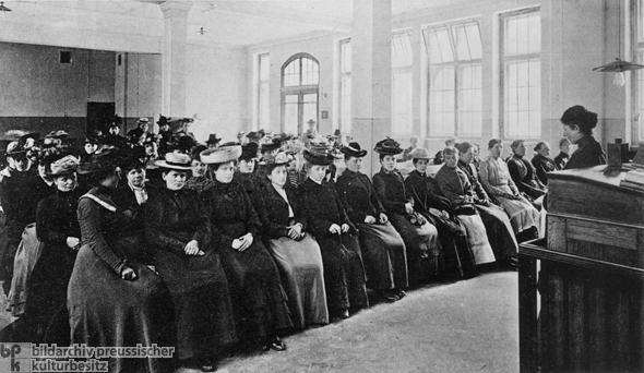 Women at the Employment Office (1913)