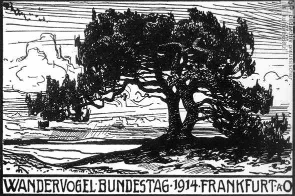 German Youth Groups: The Wandervögel (1914)