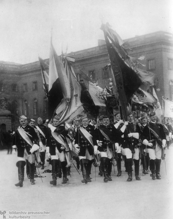 Berlin University Commemorates Liberation from Napoleon (1913)