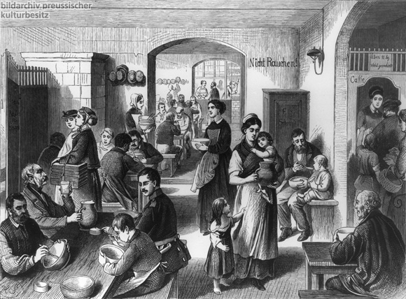 Berlin People's Kitchen (1860s)