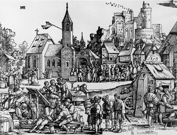 Rural Festival, Image One of Three (1535)