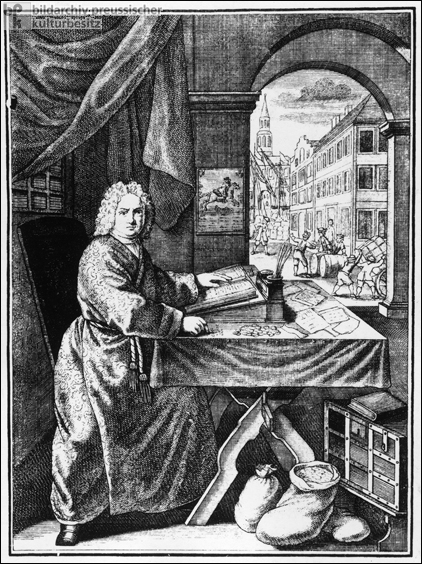 The Banker (c. 1730)