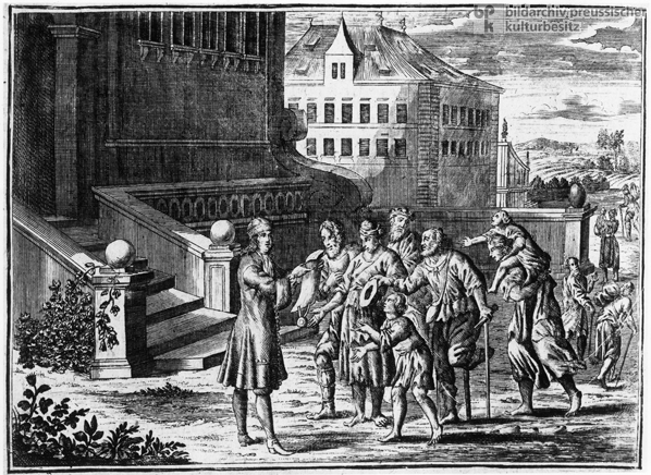 Giving to the Sick and the Needy (1750)