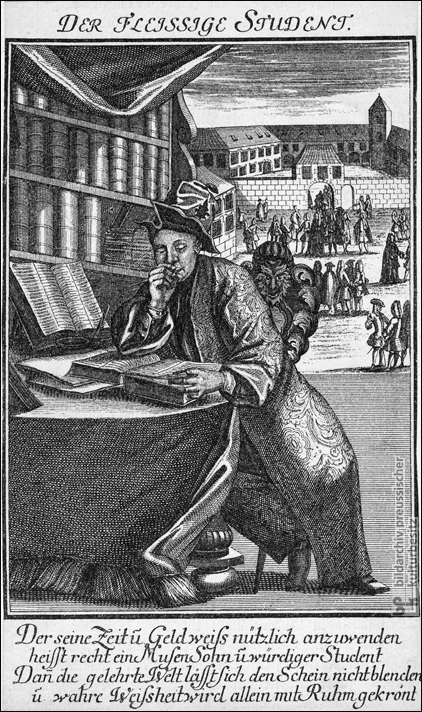 The Industrious Student (c. 1740)