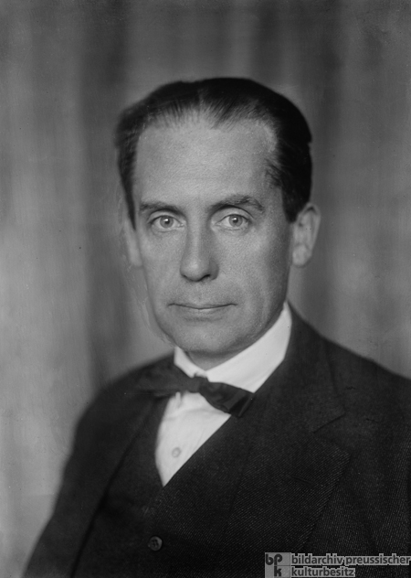 Walter Gropius, Architect and Founder of the Bauhaus (1926)