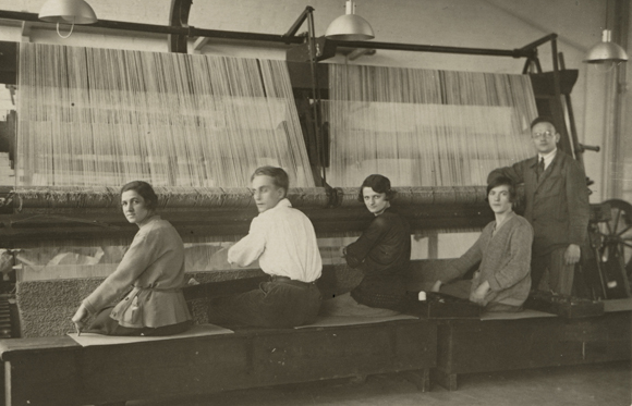 Weaving Workshop at the Dessau Bauhaus (1927)