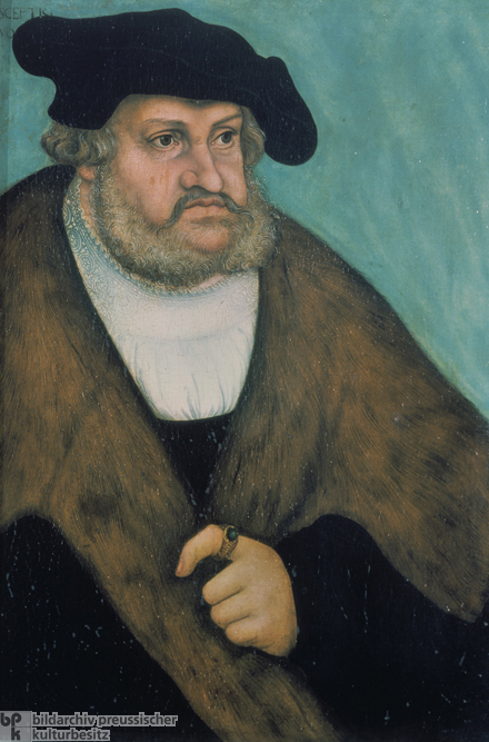 "Elector Frederick III of Saxony, called ""the Wise"" (early 16th century)"