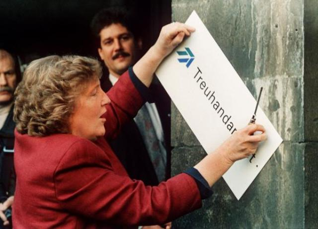 Closing the <i>Treuhandanstalt</i> [Trusteeship Agency] (December 30, 1994)
