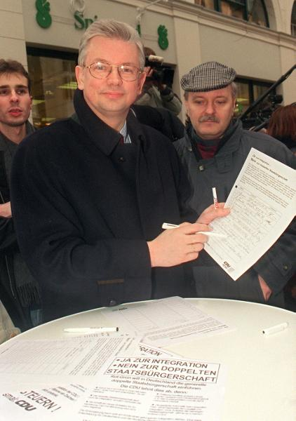 Petition against Dual Citizenship (January 16, 1999)