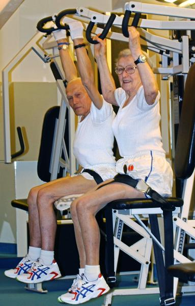 Senior Citizens Stay Fit (November 27, 2002)