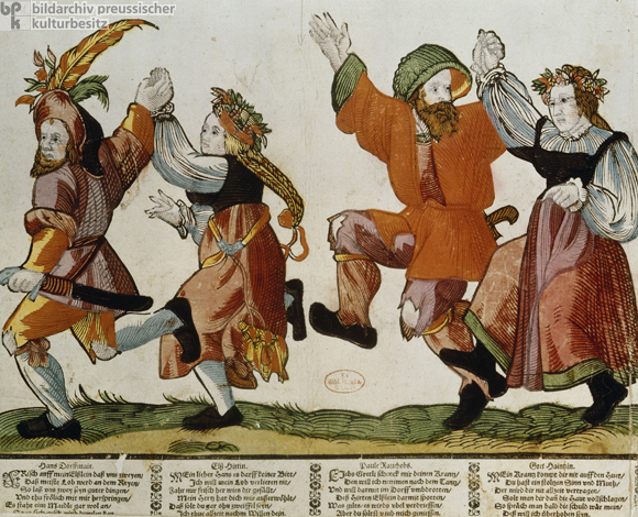 Dancing Peasants (late 16th Century)