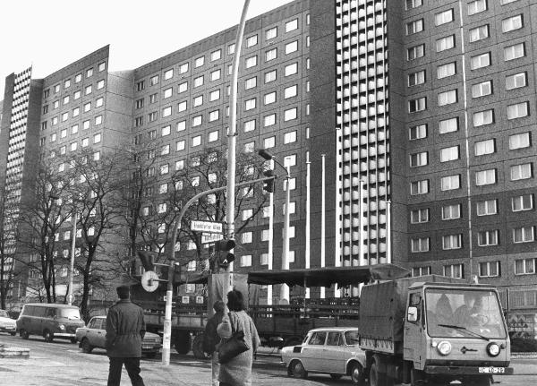 The Headquarters of the Office for National Security (formerly of the Ministry for State Security) in the East Berlin Neighborhood of Lichtenberg (December 15, 1989)