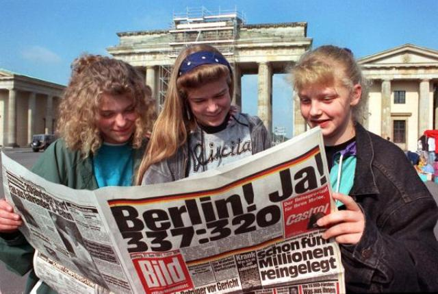 Berlin to Become Capital (June 23, 1991)