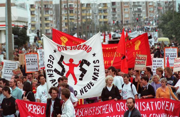 Demonstration against Xenophobia in Rostock-Lichtenhagen (August 29, 1992)
