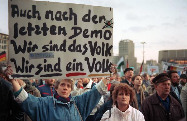 "The Last ""Monday Demonstration"" in Leipzig (March 12, 1990)"