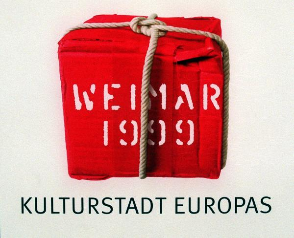 "Presentation of the Logo for the Project ""Weimar – European Capital of Culture, 1999"" (March 20, 1997)"