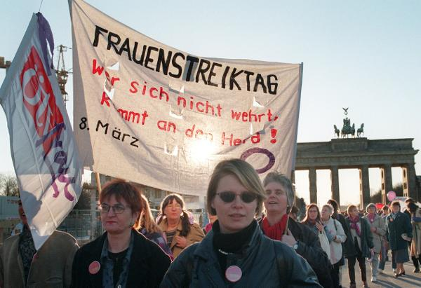 Women Protest for Equal Rights (March 8, 1997)
