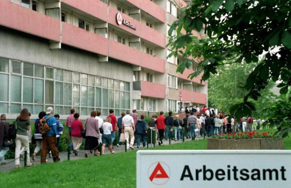 Employment Office in Berlin-Marzahn (June 6, 1996)