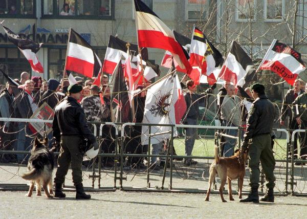 NPD Rally against Dual Citizenship in Magdeburg (February 27, 1999)
