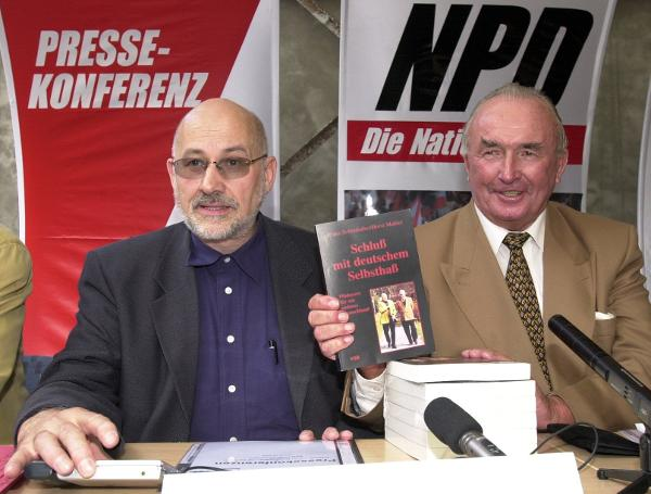 "NPD Press Conference: ""No More German Self-Hatred"" (September 7, 2000)"