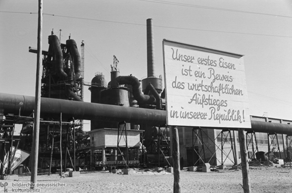 <I>Eisenhüttenkombinat Ost</i> [Steelworks Combine East] (October 1951)