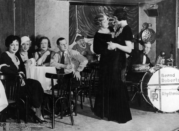 "In the ""Eldorado"" Transvestite Bar on Motzstrasse, Berlin (1926)"