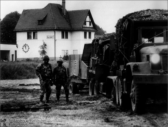 American Troops in Hutzdorf (1985)