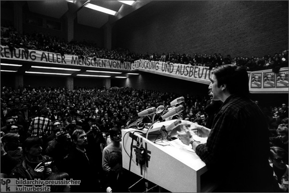 Rudi Dutschke at a Vietnam Congress (February 17, 1968)