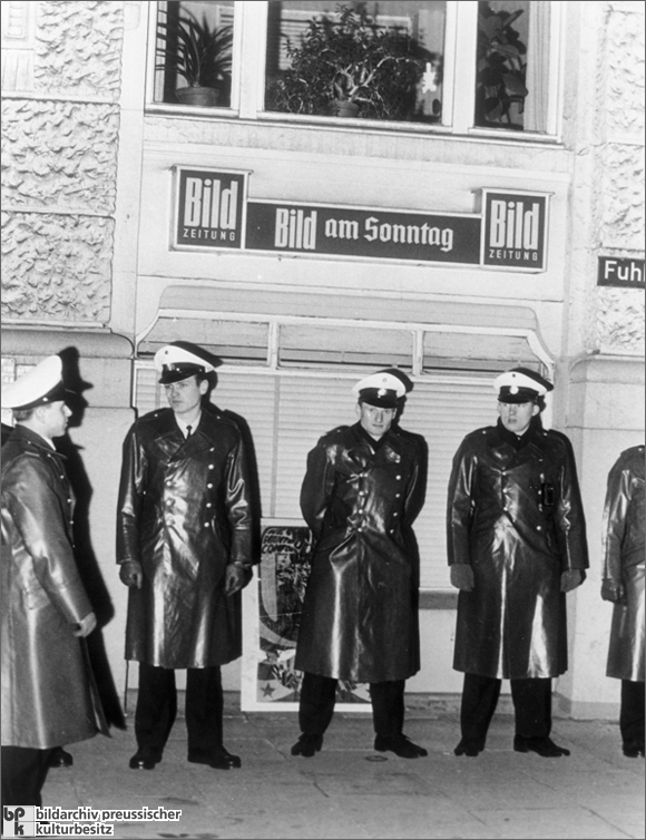 Blockade of the Springer Publishing House in Hamburg (1968)