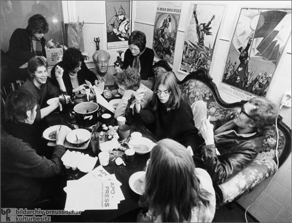 Meal in a Political Commune (1968)