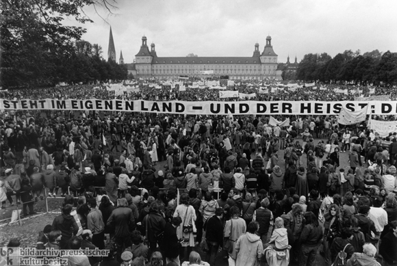 Friedensdemonstration in Bonn (10. Oktober 1981)