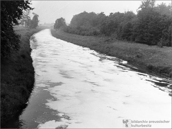 Water Pollution in North Rhine-Westphalia (1958)