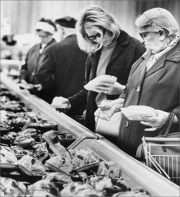 Meat Products in a Supermarket (1963)
