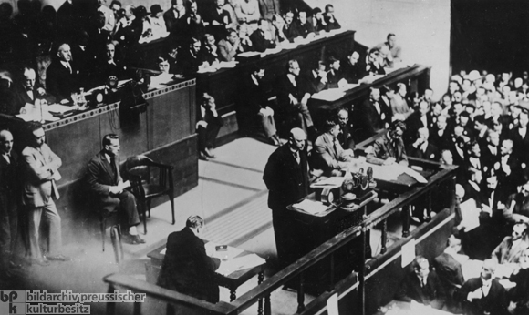 Foreign Minister Gustav Stresemann Addresses the General Assembly of the League of Nations in Geneva (September 10, 1926)