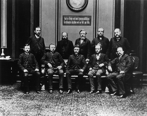 Members of the Social Democratic Reichstag Caucus (1889)