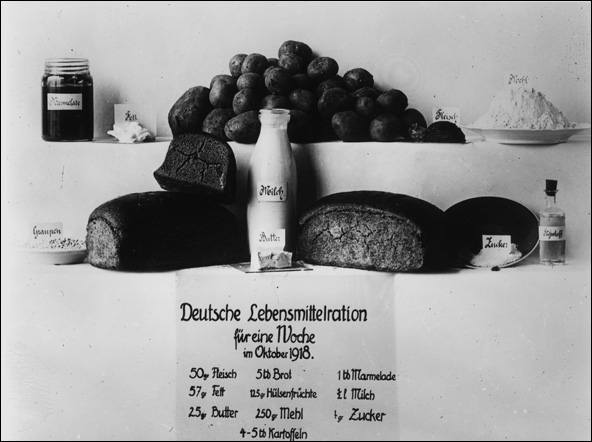 Weekly Rations (October 1918)