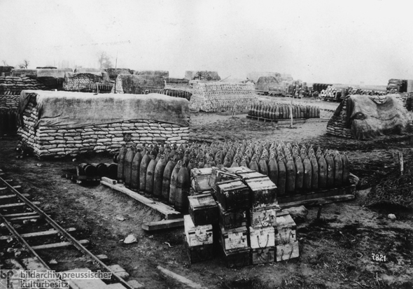 Captured Munitions (March 1918)