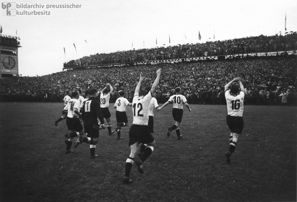"Celebrating the ""Miracle of Bern"": Soccer World Cup (July 4, 1954)"