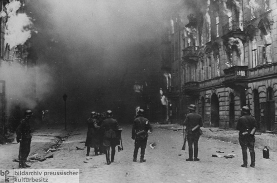 Suppression of the Warsaw Ghetto Uprising (April 22, 1943)