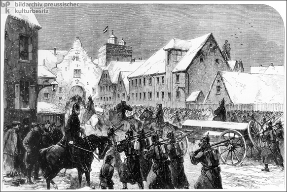 German-Danish War: Occupation of Flensburg (1864)