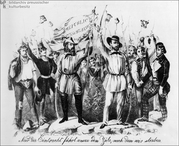 Leaders of the Republican Revolt in Baden (1848)
