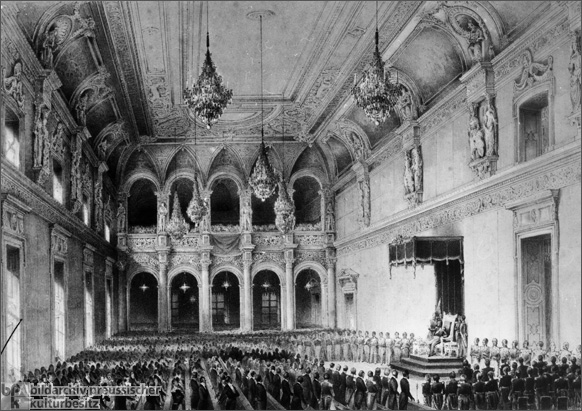 Opening of the First United <I>Landtag</i> (April 11, 1847)