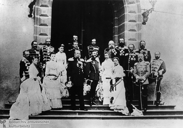 European Royalty Meets in Homburg (1883)