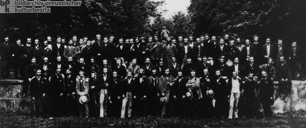 Social Democratic Workers' Party Congress in Dresden (August 12-15, 1871)