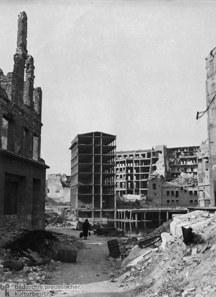 Ruins of Apartment Buildings and Offices (1946)