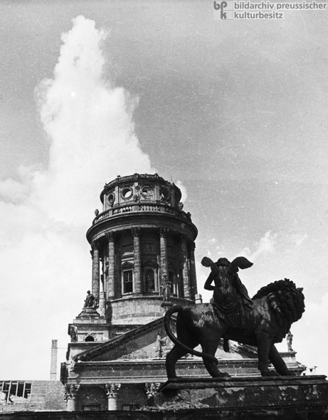 The French Cathedral on Gendarmenmarkt (1946)